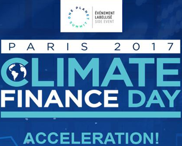 CLIMATE FINANCE DAY 2017 – PARIS
